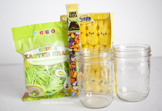 Rice Krispe Treat Edible Easter Basket