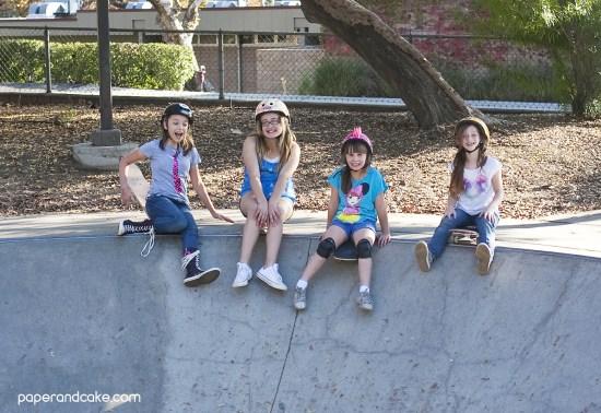 printable skateboard birthday party