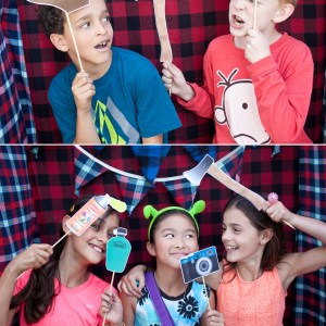 camping photo booth props 2