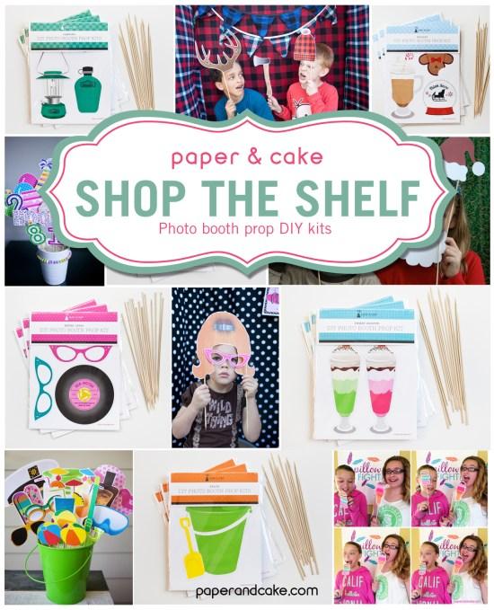 Photo Booth Prop DIY Kits
