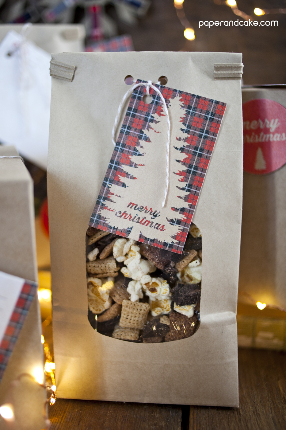 Holiday Baked Goods Packaging Paper And Cake Paper And Cake