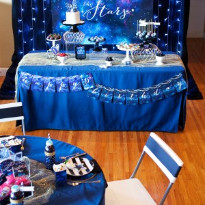 Under the Stars Galaxy Printable Party