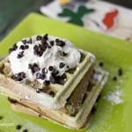 Mint Chocolate Chip Waffle recipe