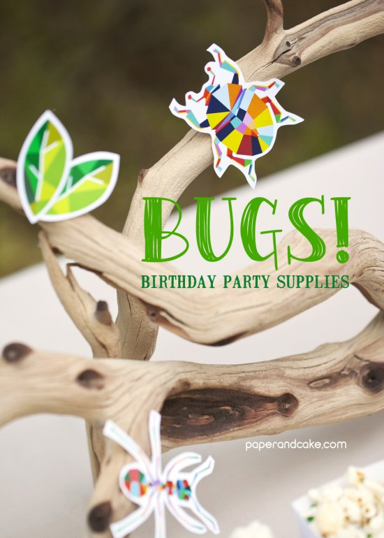 Bug Birthday Party Supplies