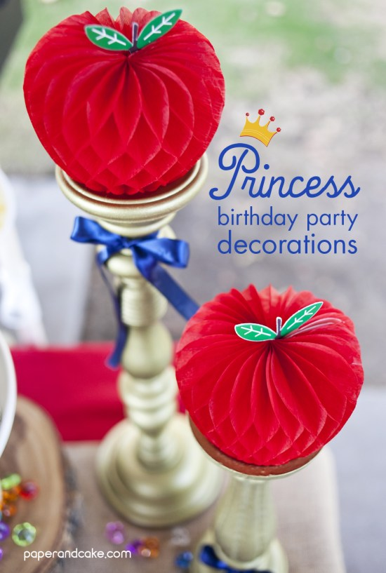 a princess party for two
