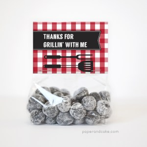BBQ Party Favor Kit for 12