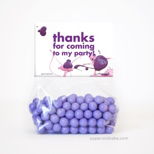 Art Party Favor Kit for 12