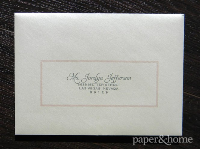Modern Classic Wedding Invitations Amy Eric Paper And Home