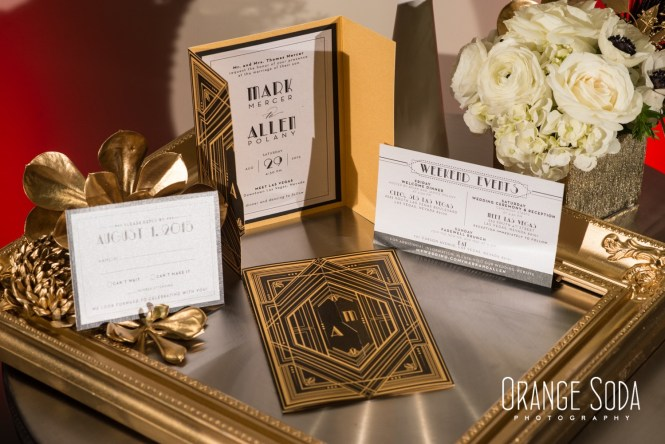 3 Jpg Preview Image Set 05 Art Deco Wedding Invitation Vol