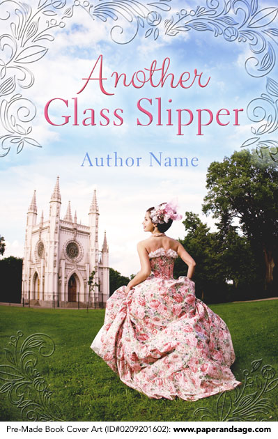 Pre-Made Book Cover ID#0209201602 (Another Glass Slipper)