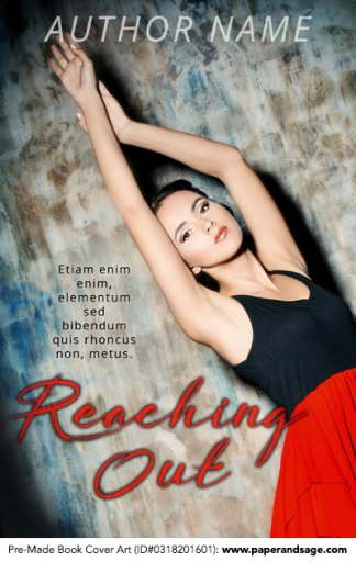 Pre-Made Book Cover ID#0318201601 (Reaching Out)