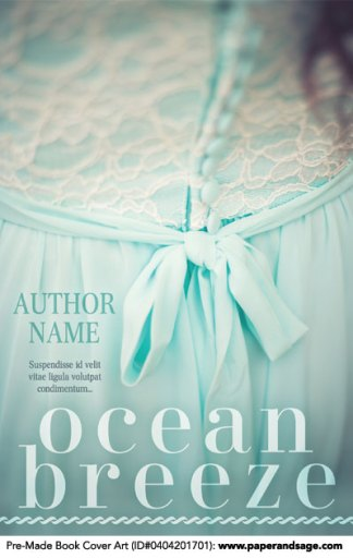 Pre-Made Book Cover ID#0404201701 (Ocean Breeze)