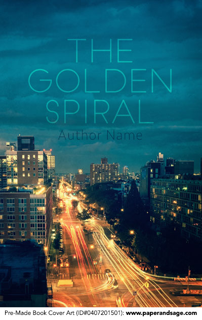 Pre-Made Book Cover ID#0407201501 (The Golden Spiral)