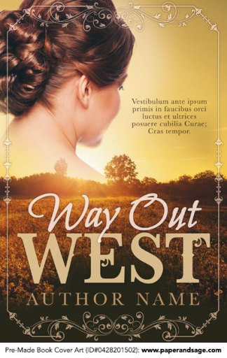 Pre-Made Book Cover ID#0428201502 (Way Out West)