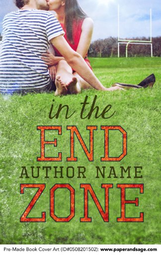 Pre-Made Book Cover ID#0508201502 (In the End Zone)