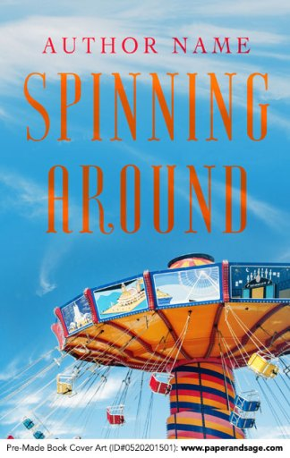 Pre-Made Book Cover ID#0520201501 (Spinning Around)