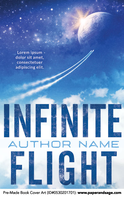 Pre-Made Book Cover ID#0530201701 (Infinite Flight)