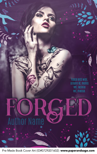Pre-Made Book Cover ID#0729201602 (Forged)