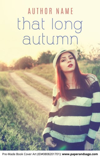 Pre-Made Book Cover ID#0808201701 (That Long Autumn)