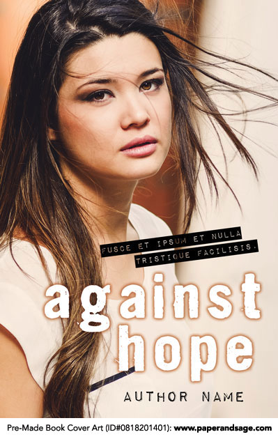 Pre-Made Book Cover ID#0818201401 (Against Hope)