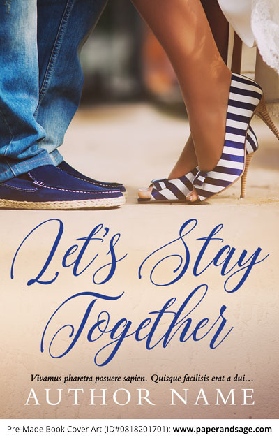 Pre-Made Book Cover ID#0818201701 (Let's Stay Together)