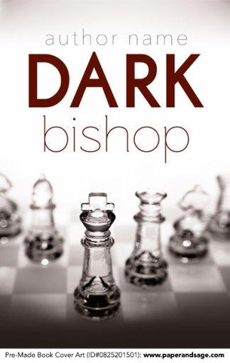 Pre-Made Book Cover ID#0825201501 (Dark Bishop)