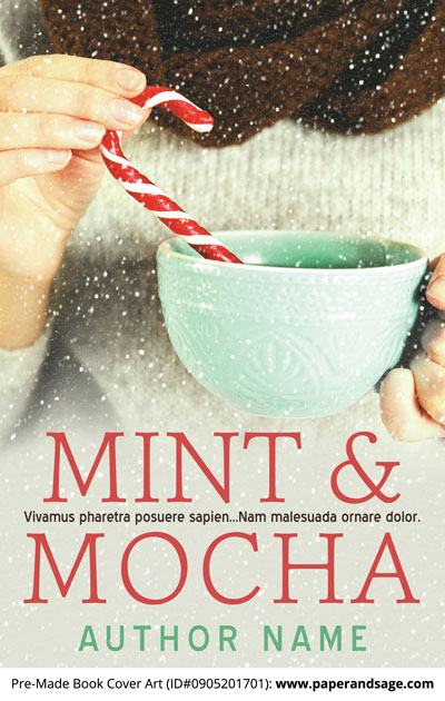 Pre-Made Book Cover ID#0905201701 (Mint & Mocha)