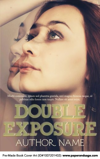Pre-Made Book Cover ID#1007201402 (Double Exposure)