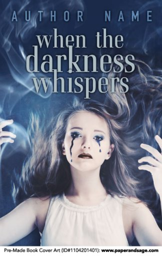 Pre-Made Book Cover ID#1104201401 (When the Darkness Whispers)
