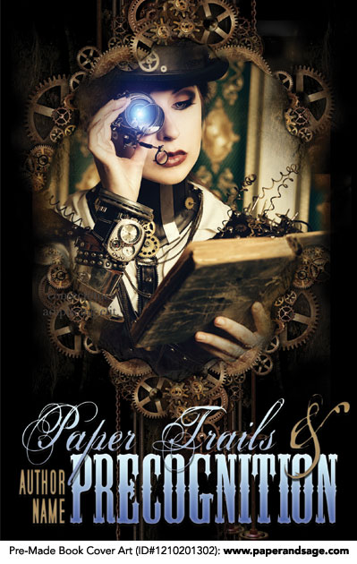 Pre-Made Book Cover Art for Indie and Self-Publishing Authors! Customize with your pen name & title. #psbookcover https://paperandsage.com