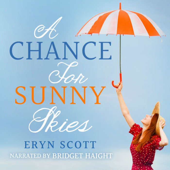 Add-On Example: Audiobook cover for A Chance for Sunny Skies by Eryn Scott