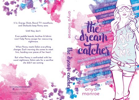 Print layout for Dreamcatcher by Anya Monroe