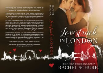 Print layout for Lovestruck in London by Rachel Schurig
