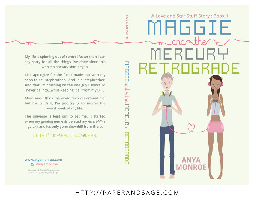 Print Layout for Maggie and the Mercury Retrograde by Anya Monroe