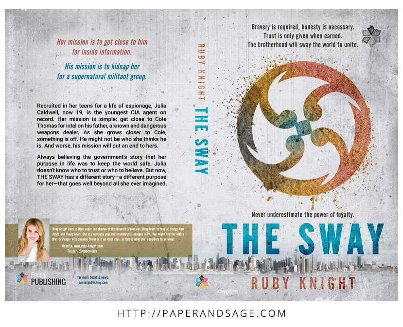 Print layout for The Sway by Ruby Knight