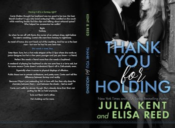 Print layout for Thank You for Holding by Julia Kent and Elissa Reed