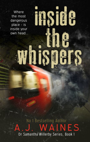 Book Cover for Inside the Whispers by AJ Waines