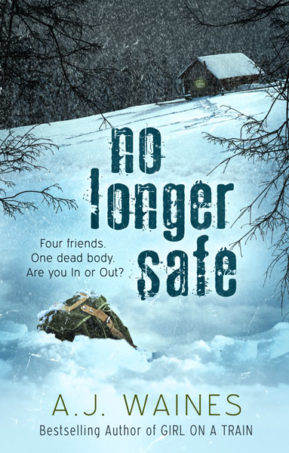 Book Cover for No Longer Safe by AJ Waines