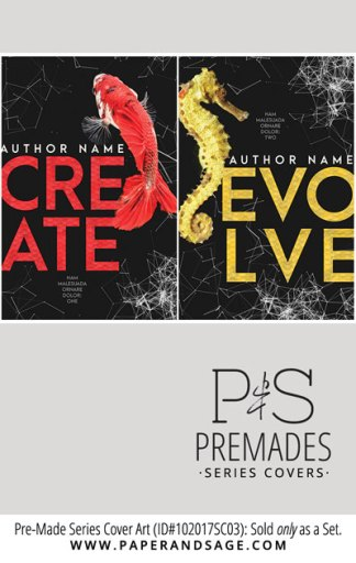 PreMade Series Covers ID#102017SC03 (Create Series, Only Sold as a Set)