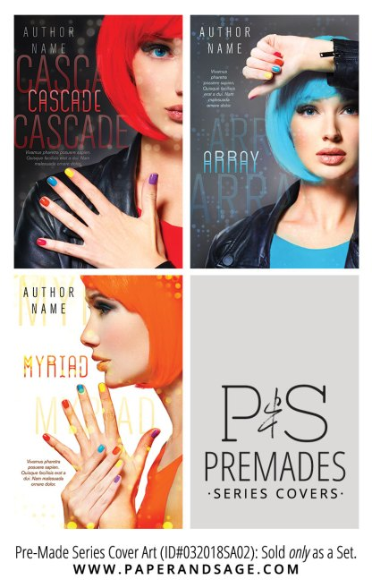PreMade Series Covers ID#032018SA02 (Cascade Series, Only Sold as a Set)