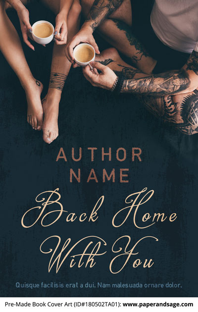 Pre-Made Book Cover ID#180502TA01 (Back Home with You)