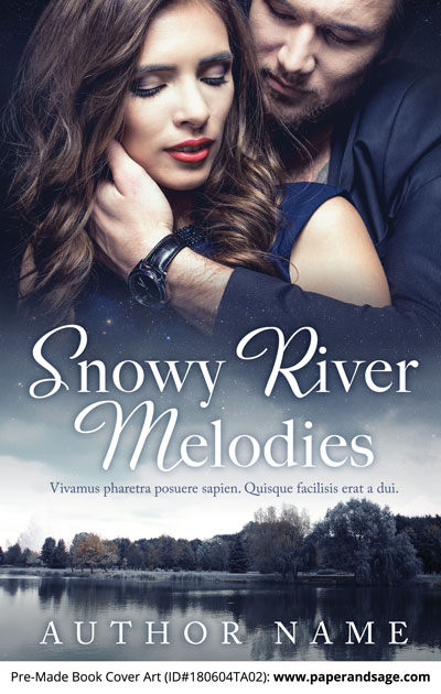 Pre-Made Book Cover ID#180604TA02 (Snowy River Melodies)