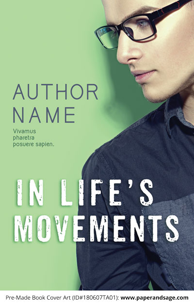 Pre-Made Book Cover ID#180607TA01 (In Life's Movements)