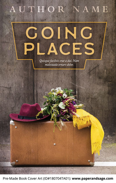 Pre-Made Book Cover ID#180704TA01 (Going Places)