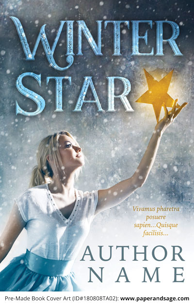 Pre-Made Book Cover ID#180808TA02 (Winter Star)