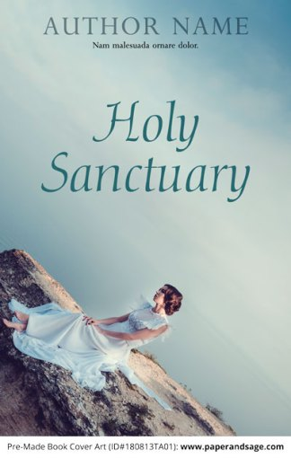 Pre-Made Book Cover ID#180813TA01 (Holy Sanctuary)