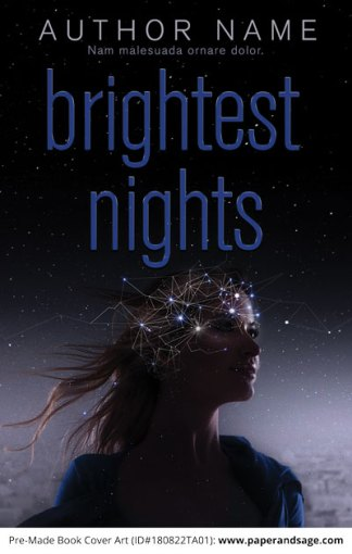 Pre-Made Book Cover ID#180822TA01 (Brightest Nights)