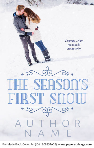 Pre-Made Book Cover ID#180823TA02 (The Season's First Snow)