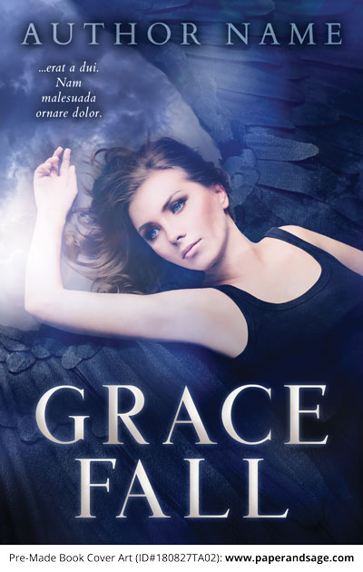 Pre-Made Book Cover ID#180827TA02 (Grace Fall)