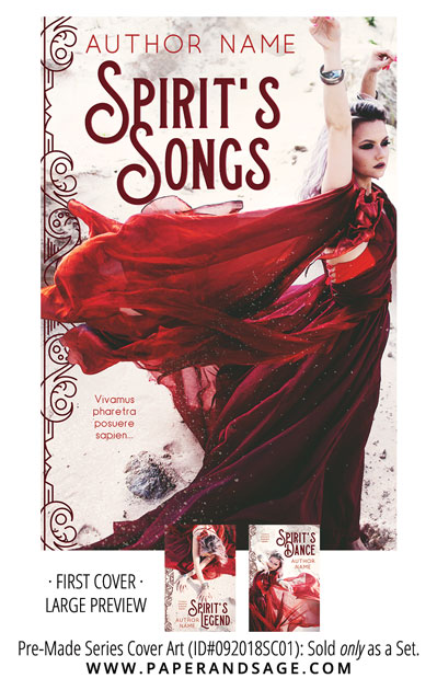 PreMade Series Covers ID#092018SC01 (Spirit's Song Series, Only Sold as a Set)